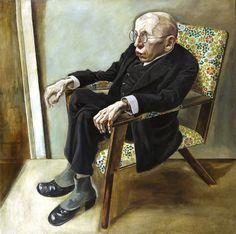 George Grosz, Porträt des Schriftstellers Max Herrmann-Neiße, 1925 by kraftgenie, via Flickr