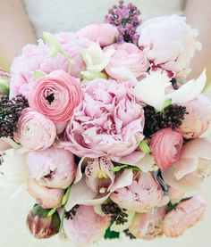 wedding inspiration / spring / flowers