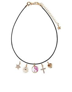 Make Your Own Charm Choker Necklace