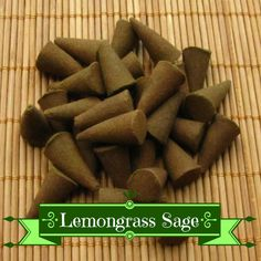 Lemongrass Sage Incense Cones
