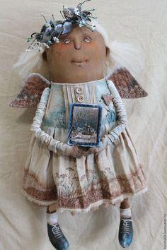 Коллекционные куклы ручной работы. Заказать Первые заморозки...Ангел. Татьяна Козырева (tansha69). Ярмарка Мастеров. Ароматизированная кукла, синтепух