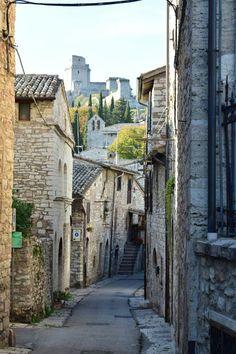Assisi. Umbria. Italy.
