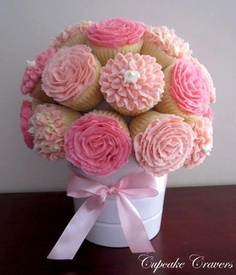 Cupcakes...Isn't this beautiful