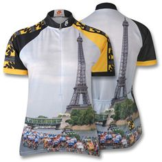 Eiffel Tower Jersey - very Tour appropriate. Cycling Clothes b503eade0