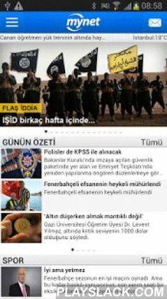 Mynet Haber - Son Dakika Haber  Android App - playslack.com ,  Türkiye'nin lider internet portalı Mynet Haber yeni tasarımıyla Android cihazınızda! Son dakika haberler, gündem, magazin, tüm gazeteler ve tüm en son haberler Mynet Haber ile Android cihazınızda.Canlı skor ve hava durumu, spor ve magazin haberleri, yerel ve dünyadan en son haberler ve daha bir çok özellik Mynet Haber'de. Tüm son dakika haberleri, finans, spor, magazin ve sinema dünyasına ait güncel haberleri Mynet Haber ile…