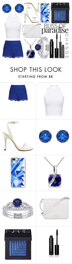 """""""Sapphire"""" by bella-claire1807 ❤ liked on Polyvore featuring City Chic, WearAll, ALDO, Casetify, Miadora, Furla, NARS Cosmetics, Bobbi Brown Cosmetics and Elizabeth Arden"""