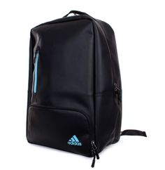 adidas Golf Matt PU Backpack Bag Rucksack Pouch Black 2017 NEW NWT A99289 02f64259f9016