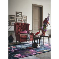 Buy Ted Baker Shadow Floral Rug Online at johnlewis.com