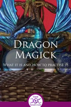Learn what Dragon Magick is and how to practice it. Learn also a simple spell of prosperity and protection + a Prayer to the Dragons! Magick Book, Witchcraft Books, Occult Books, Moon Spells, Wiccan Spells, Wiccan Magic, Wiccan Witch, Pagan Music, Tarot
