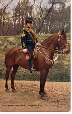 "Ww1 "" royal #horse artillery - #sergeant major"" 1915, tuck oilette, #postcard,  View more on the LINK: 	http://www.zeppy.io/product/gb/2/252697370992/"