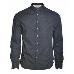 BOLONGARO TREVOR VITTORIA SHIRT (CHARCOAL) - Shirts - Menswear