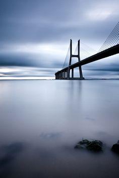 Photograph - Feeling Blue by Jorge Maia , Im Blue, Kind Of Blue, Dark Blue, Art Business Cards, Paradise On Earth, Color Photography, Lisbon, Beautiful Places, Lisbon Portugal