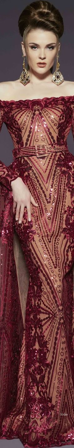 Shades Of Burgundy, Burgundy And Gold, Only Fashion, High Fashion, Dark Red Dresses, Beautiful Gowns, Playing Dress Up, Couture Fashion, Dress To Impress