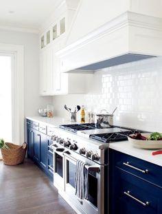 Cuisine bleu : idées décoration cuisine bleue