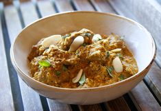 Almond Lamb Curry