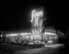 Friars   Restaurant -  Los Angeles -   1956 - photographer Joseph Fadler for Southern California Edison.
