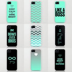 Tiffany iPhone Cases by RexLambo ($35) i love all of these ! Such nice colours :) I really like the young wild free one