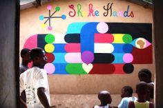 remed colorful street art graffiti