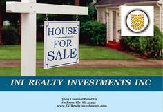 Brought to you by INI Realty Investments Inc., the first 100% Commission Real estate Office in Jacksonville, FL. www.100RealestateJax.com