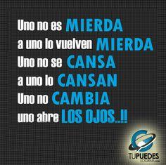 Uno no es mierda, a uno lo vuelven MIERDA..!!! - #Reflexiones #Frasedeldia #EloyRomero