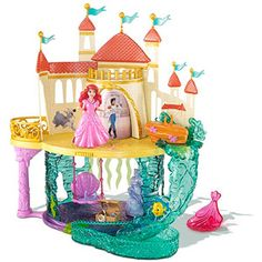 Disney Princess The Little Mermaid Castle Play Set. You should totally get this for yourself..cough I mean your little girls! lol