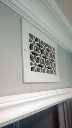 Heritage flat vent cover from ventandcover.com