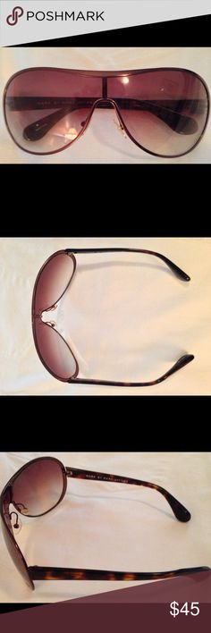 Marc by Marc Jacobs Sunglasses Marc by Marc Jacobs MMJ 002/S sunglasses are brown tortoise and come with original case Marc by Marc Jacobs Accessories Sunglasses