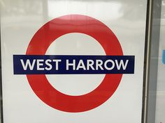 West Harrow London Underground Station in Harrow