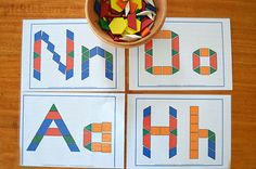 Pattern blocks can be used in so many ways! Here are 20 ideas, activities and free printables for pattern blocks.