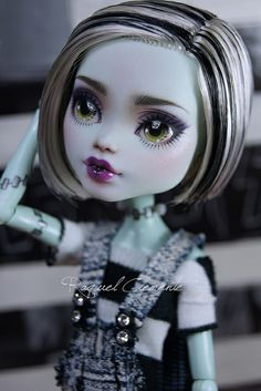 Commission Monster High Frankie Stein | Flickr - Photo Sharing!