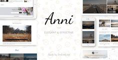 Anni  An Elegant & Effective WordPress Personal Theme
