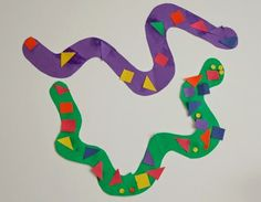 pattern snakes for jungle theme preschool