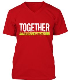 Friends Forever T Shirt 2016 Red T-Shirt Front