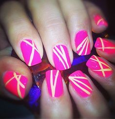 #nailart #nail #design #pink