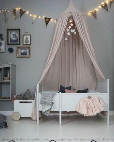 #girlsroom #kidsroom #canopy #pink #blush #dreams