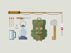 Fishing Items by Anton Frizler (kit8) for Kit8