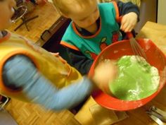 Finally, a good use for Jello: Homemade Jello Playdough from Buttercup's Babies
