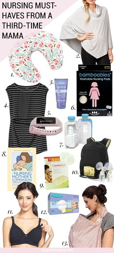 Take it from a third-time mama... this breastfeeding gear is the BEST!