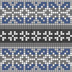 Tapestry Crochet Patterns, Fair Isle Knitting Patterns, Knitting Charts, Mosaic Patterns, Knitting Stitches, Knitting Designs, Hand Knitting, Quilt Patterns, Motif Fair Isle