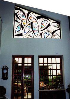 Stained Glass Window by NUZ at Betsy Frank Gallery # Art # Artforsale #stainedglasswindow #artnuz