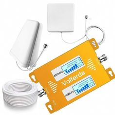 Volferda Cell Phone Signal Booster for Home Band 2 and Band 5 Dual Band Mobile Repeater for Verizon Sprint U.Cellular T-Mobile AT&T Cell Phone Deals, Cell Phone Service, Cell Phone Wallet, Best Cell Phone, Prepaid Phones, Cell Phones In School, Phone Plans, Detective, Cell Phone Accessories