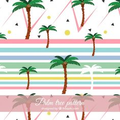 Image result for palm tree font Palm Tree Images, Miami Skyline, Tree Patterns, Palm Trees, Pattern Design, Fashion Patterns, Free Vector Art, Shapes, Modern