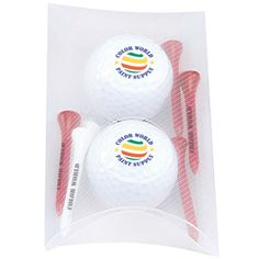 "2 Ball Pillow Pack- Callaway (R) Warbird 2.0...Have the success of your business reflect upon your promotional items! The 2 Ball Pillow Pack includes 2 imprinted Callaway(R) Warbird 2.0 golf balls and 6 imprinted 2 3/4"" tees. The case is made of PVC vinyl, tees are made of wood and the balls made of ionomer. This economical kit is perfect for tournaments or trade show giveaways, as each product gives you the ability to imprint a message or your company logo."