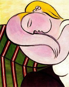 Pablo Picasso — Woman with yellow hair, 1931, Pablo PicassoSize:...