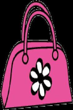 pink purse purse clipart pinterest purse rh pinterest com Pinterest Purse Patterns Pinterest Purse Patterns