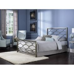 Fashion Bed Group Camden Metal Headboard