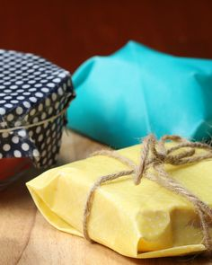 Save The Planet (and The Bees!) With These DIY Beeswax Food Wraps