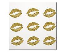 Placa Decorativa Kisses - 20X20cm