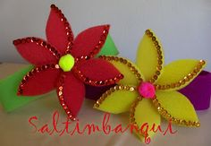 vinchas goma espuma Projects To Try, Colours, Halloween, Paper, Flowers, Crafts, Diy, Wedding, Image