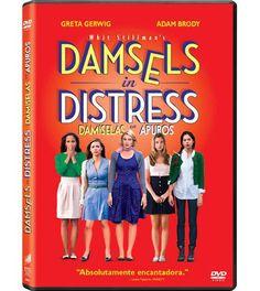 Carátula de la edición DVD de Damiselas en apuros